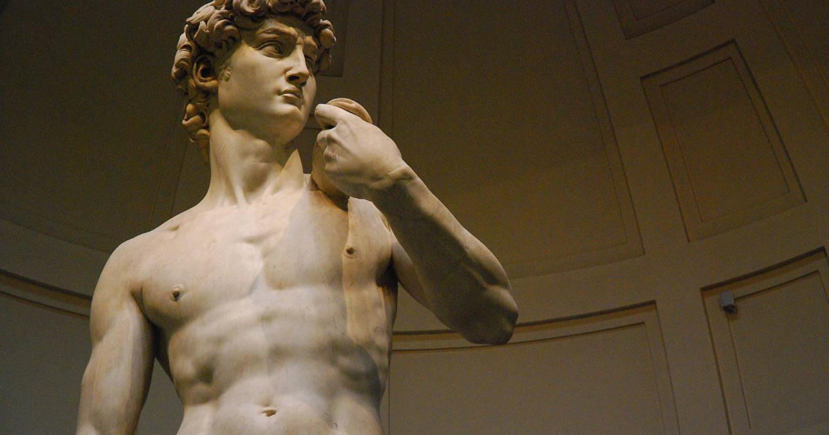 Italien - Firenze - Akademiet - Davidstatuen