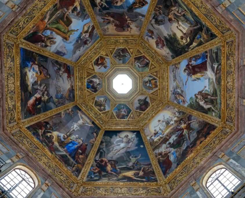 kuplen i Cappelle Medicee