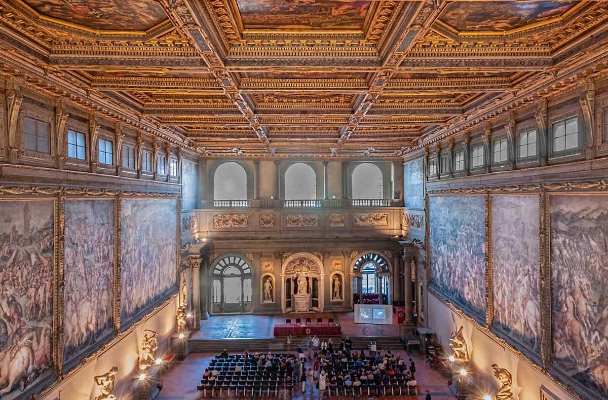 Italien - Firenze - Palazzo Vecchio