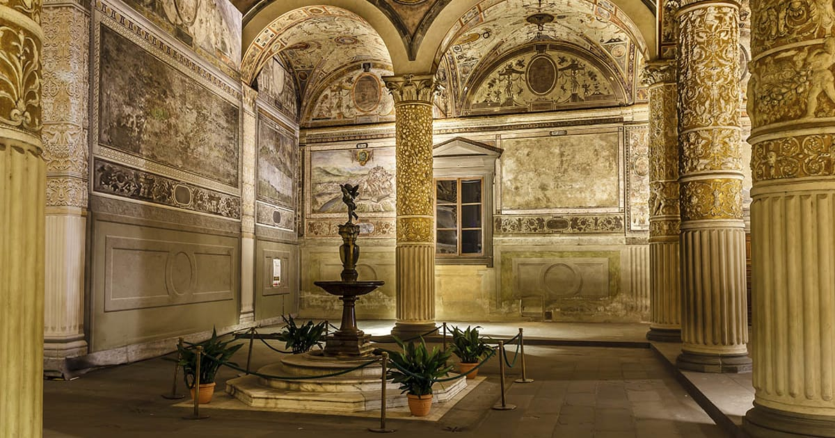Rich Interior of Palazzo Vecchio (Old Palace)