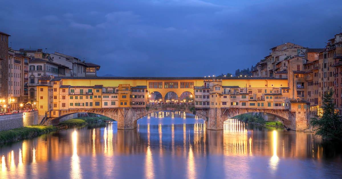 Italien - Firenze - Ponte Vecchio