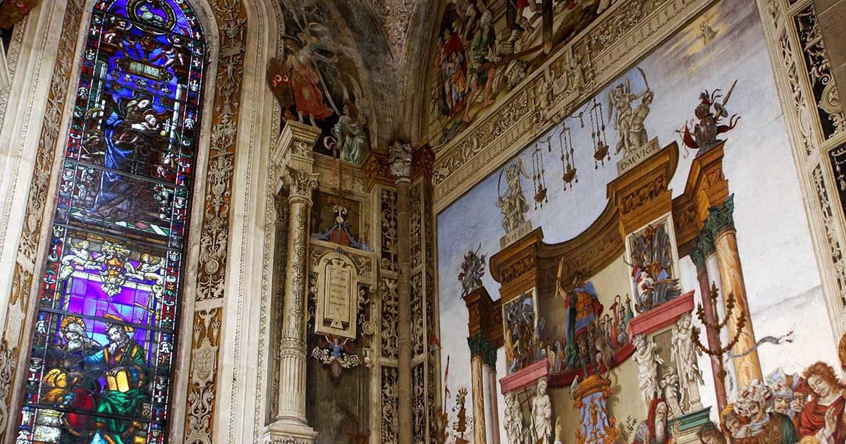 Italien - Firenze - Santa Maria Novella indenfor