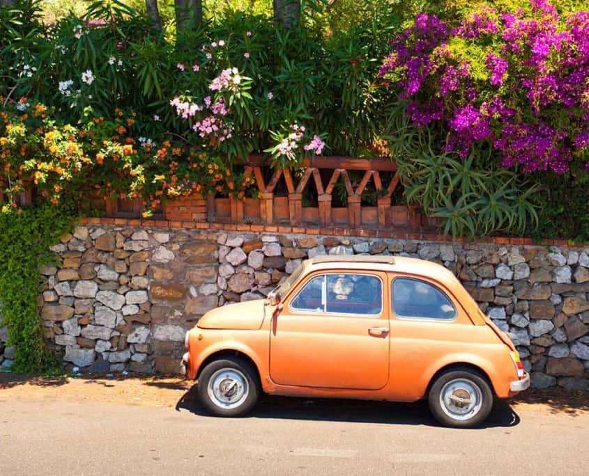 lille italiensk bil