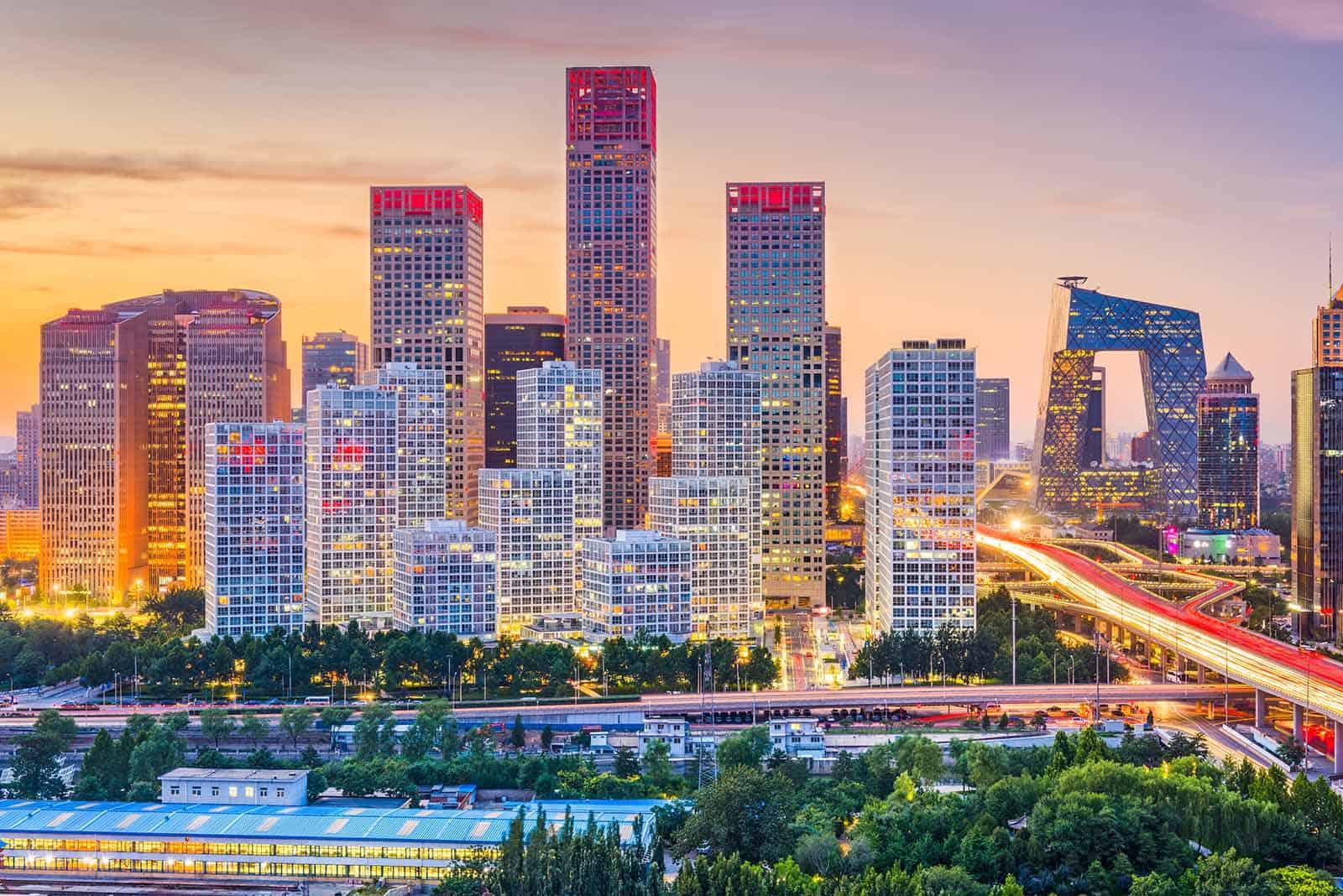 Beijing Skyline