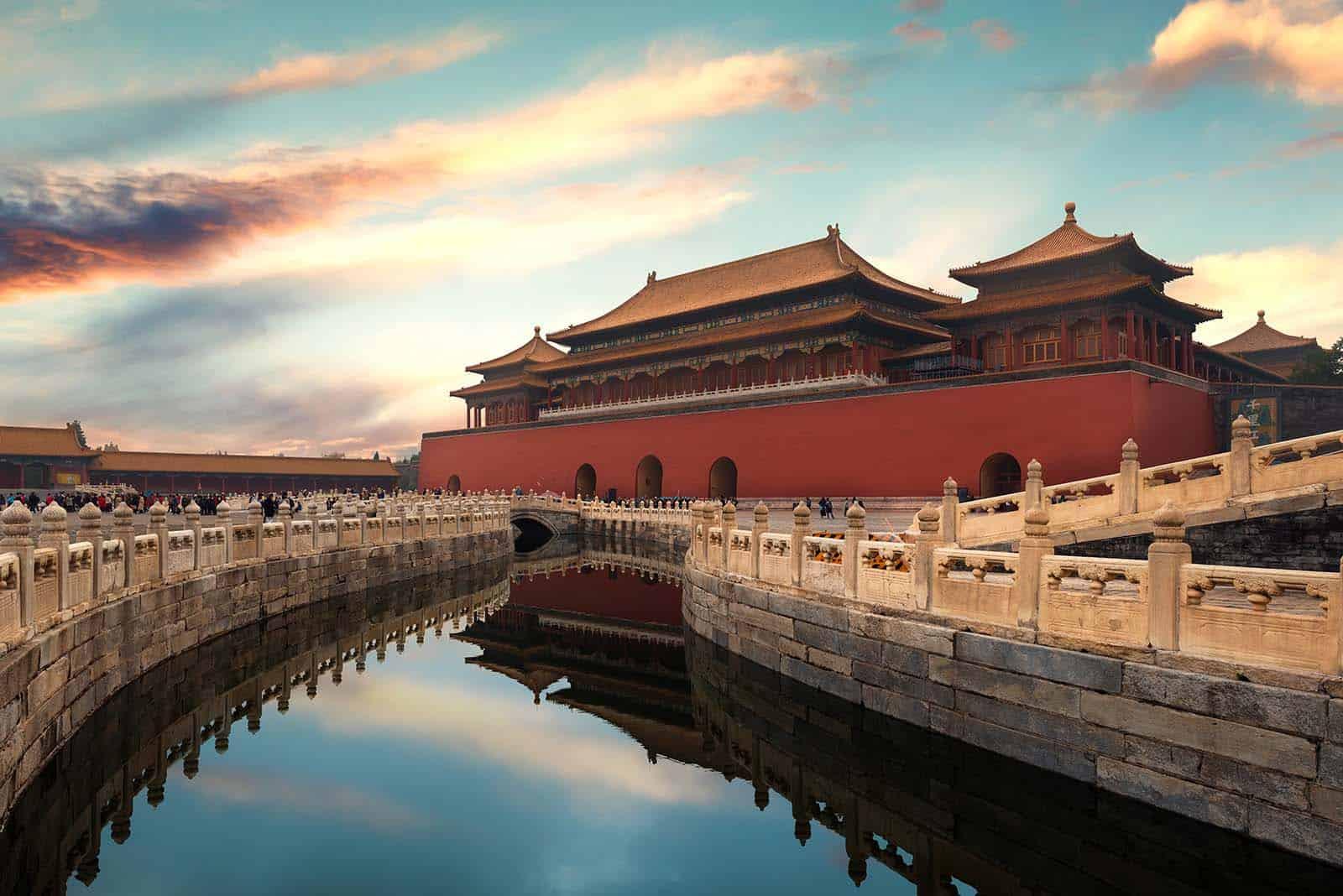 Den Forbudte By i Beijing på rejser til Kina