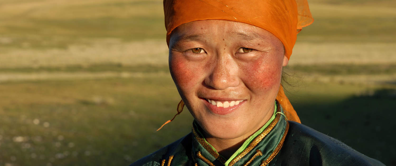 mongolsk kvinde