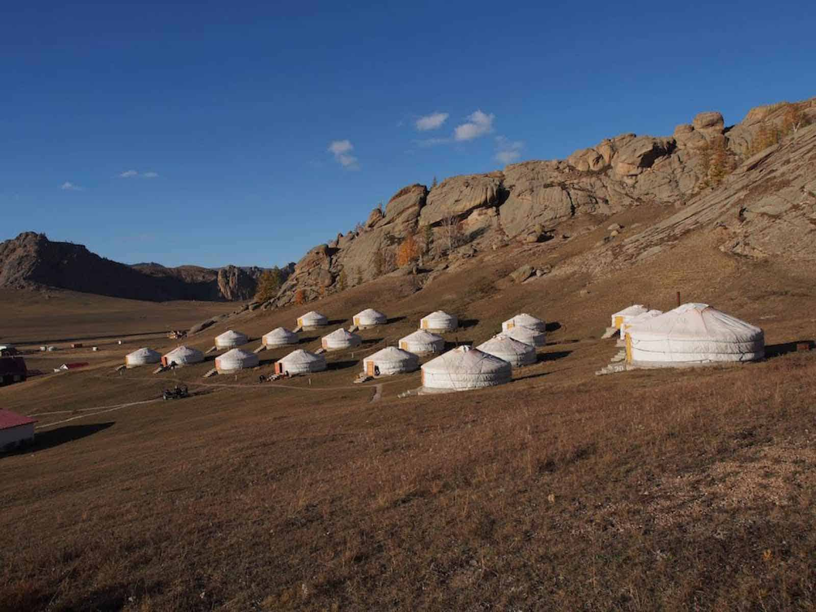 Terelj National Park Mongoliet