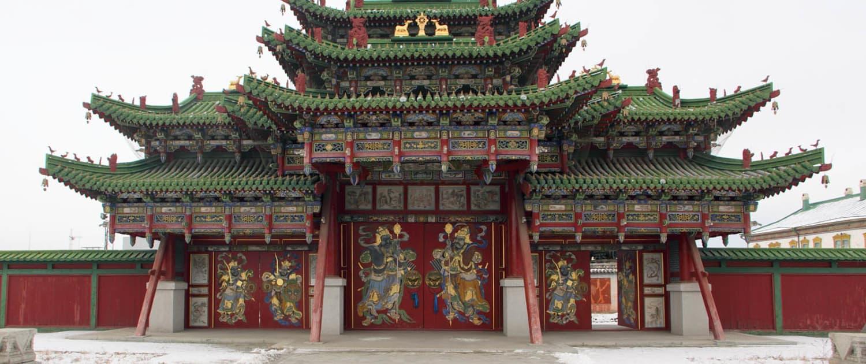 Mongoliet - Ulan Bator - Bogd Khans vinterpalads