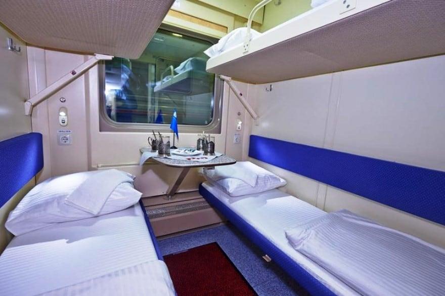 Den Transsibiriske Jernbane -Billede af 4-sengs