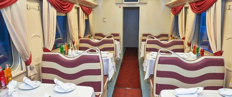Rusland - Den Transsibiriske Jernbane - Restaurant vogn 2