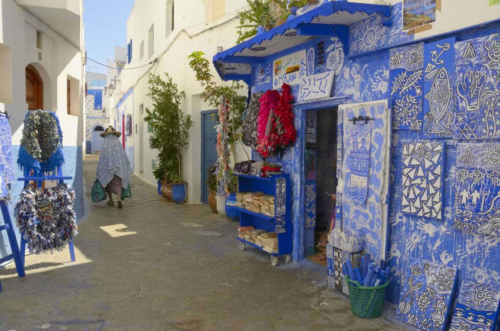 Marokko - Asilah - fiskerby