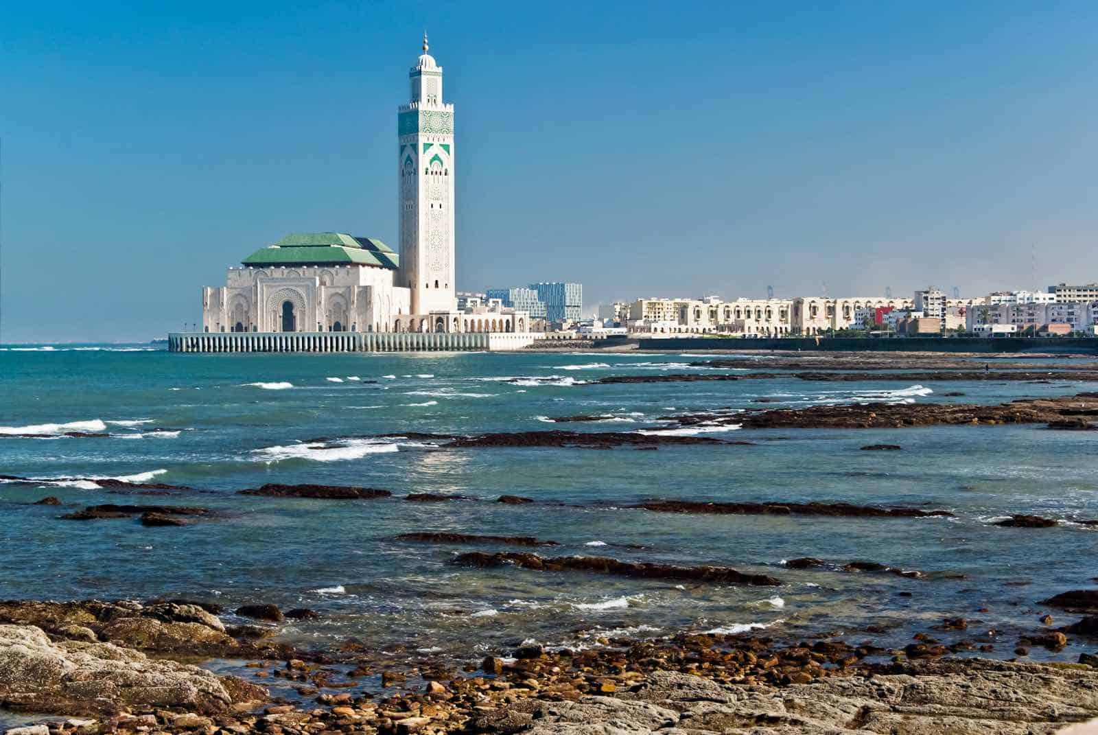 King Hassan II Moske, Casablanca, Marokko