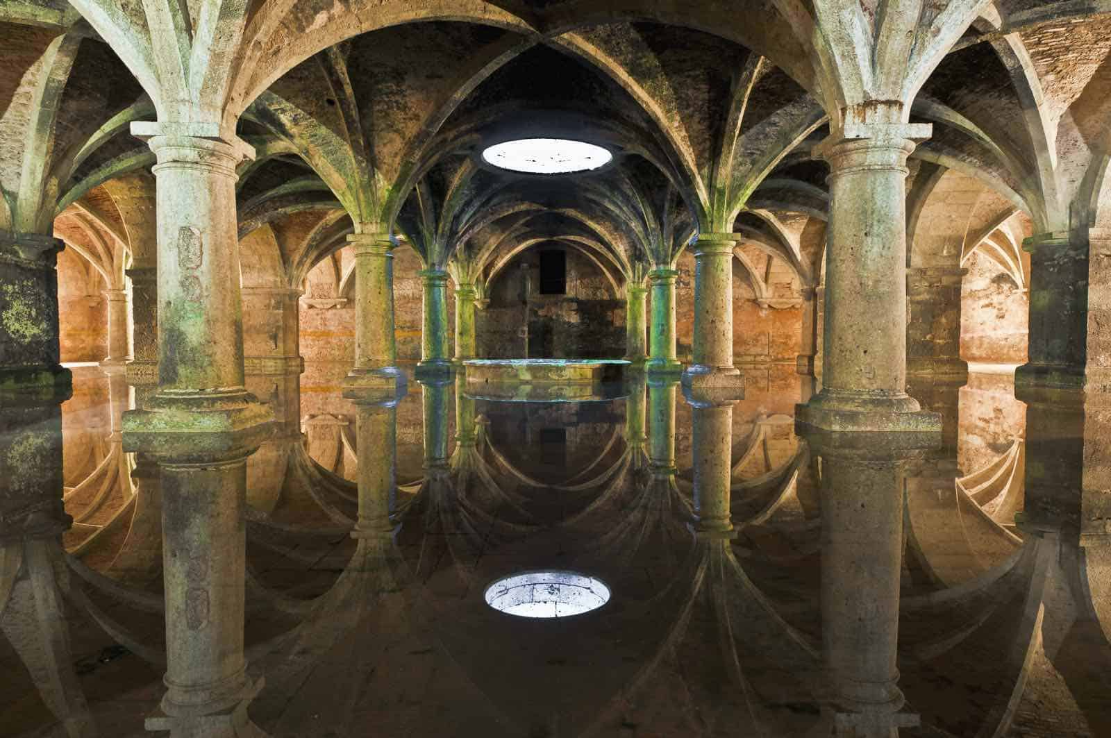Manueline Cisterne i El-Jadida i Marokko