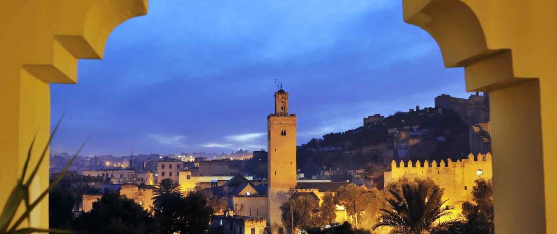 Marokko - Fez - Aften