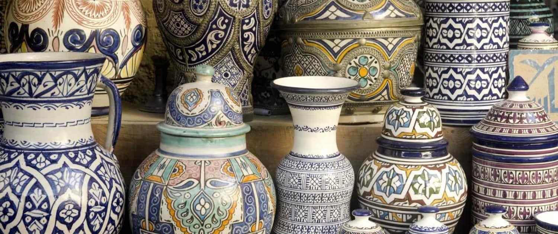 Marokko - Fez - Keramik