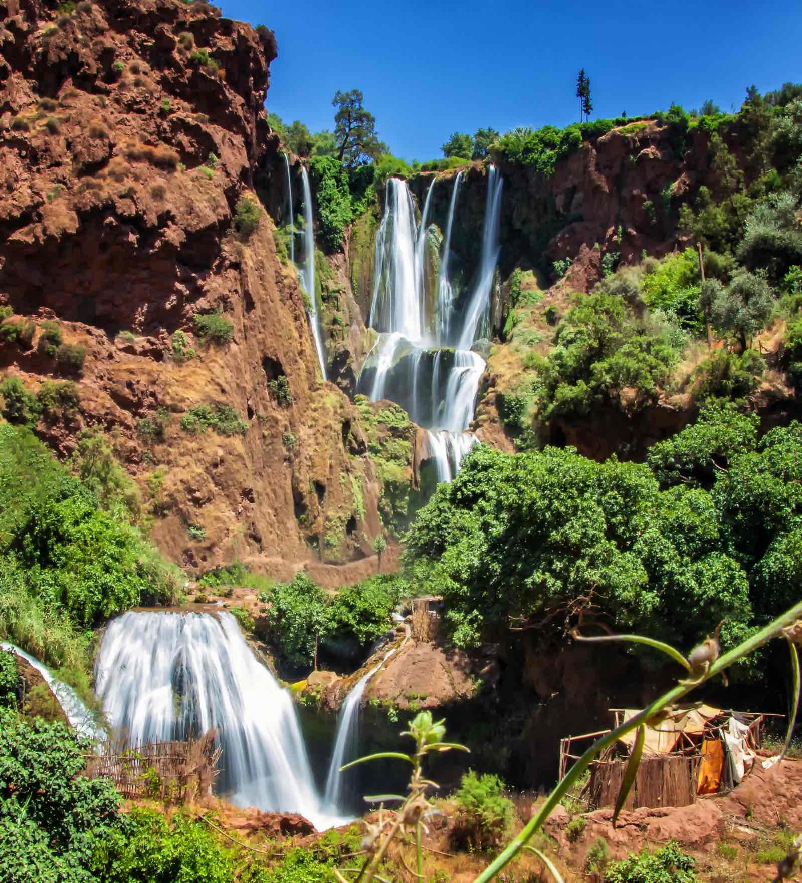 Ouzoud vandfald Marokko Atlasbjergene
