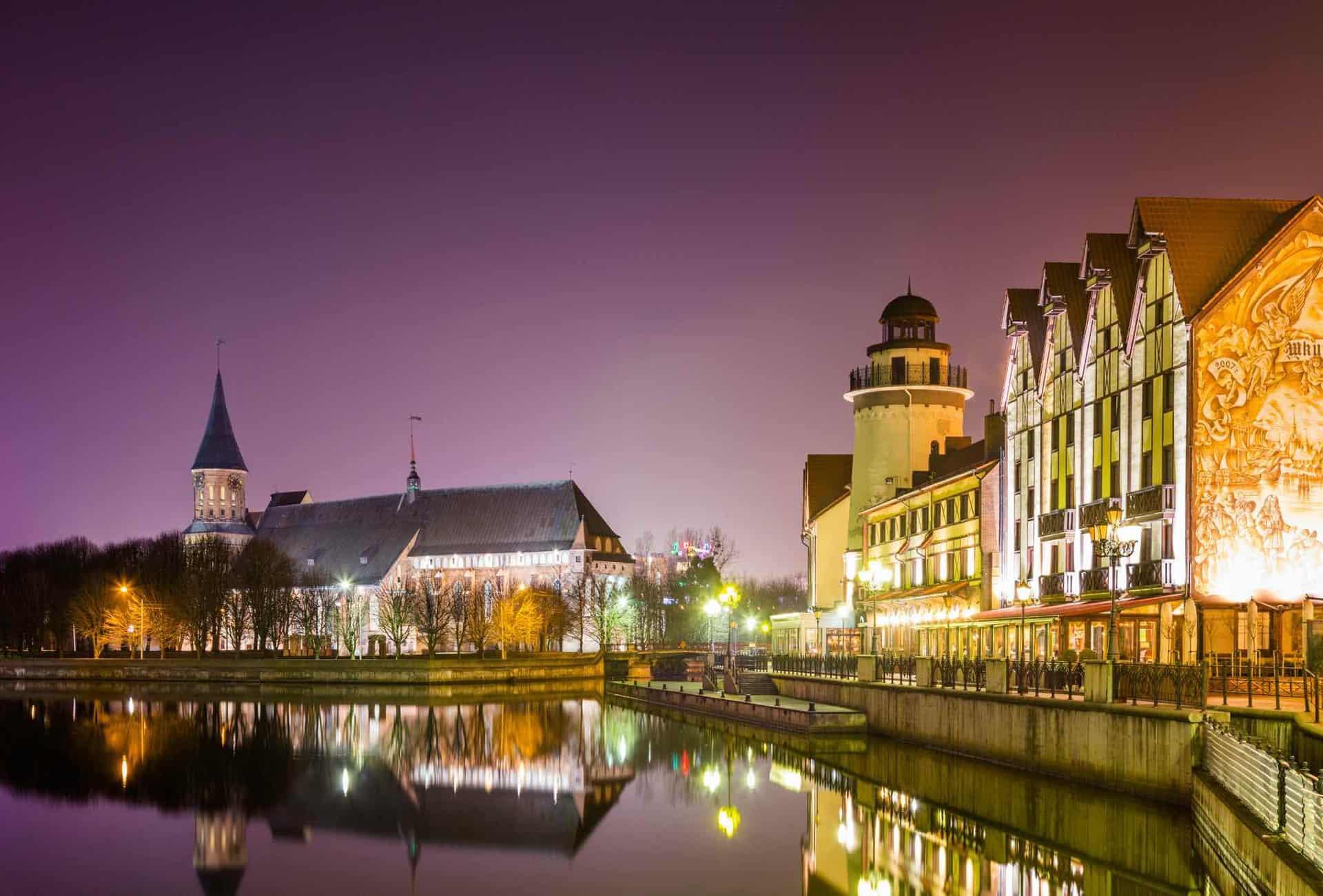 Rejser til Kaliningrad med Panorama Travel