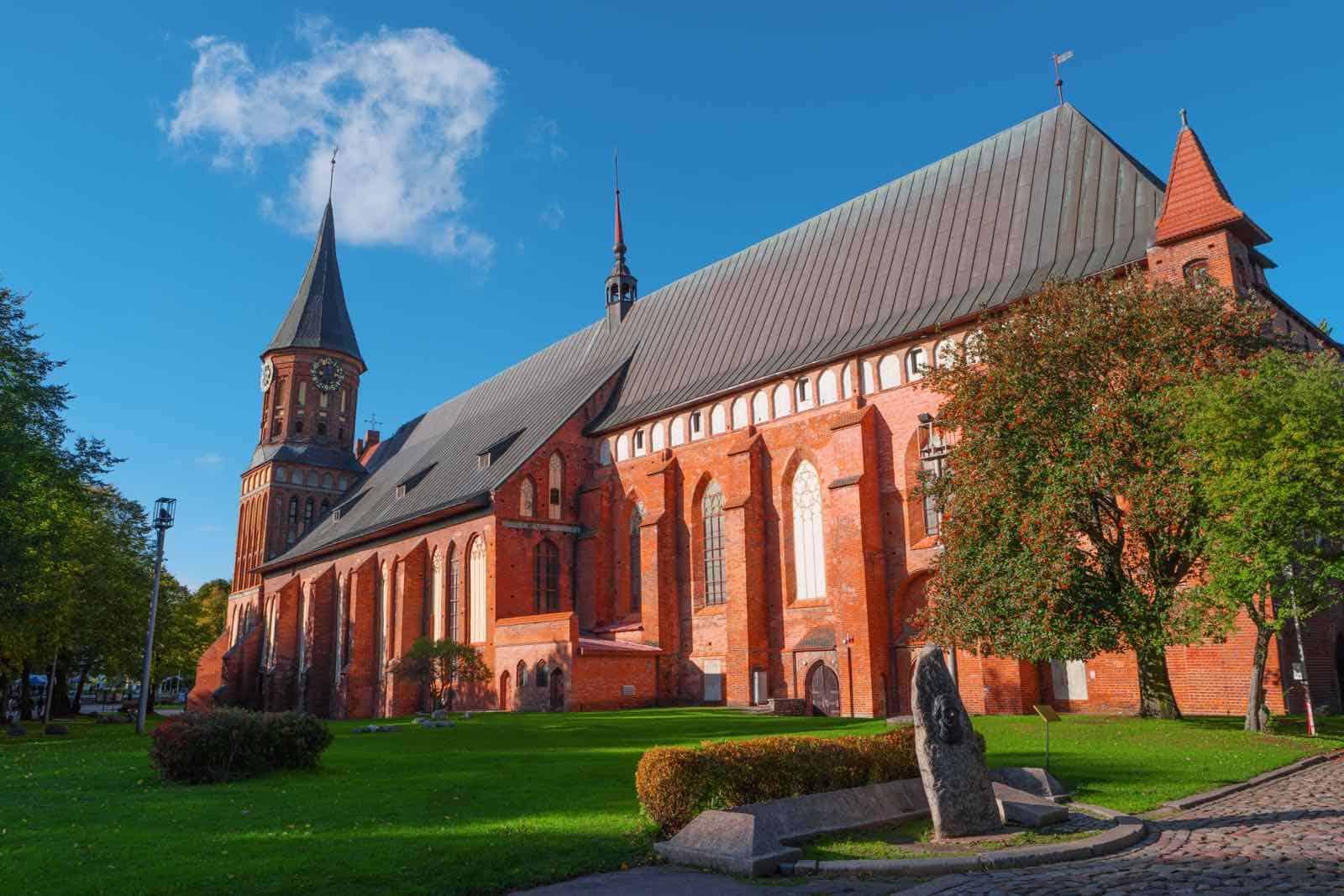 Gotisk katedral i Kaliningrad