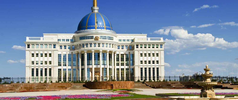 Kasakhstan - Astana - Præsidentpalads