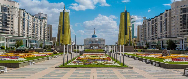 Kasakhstan - Astana - Præsidentpaladset