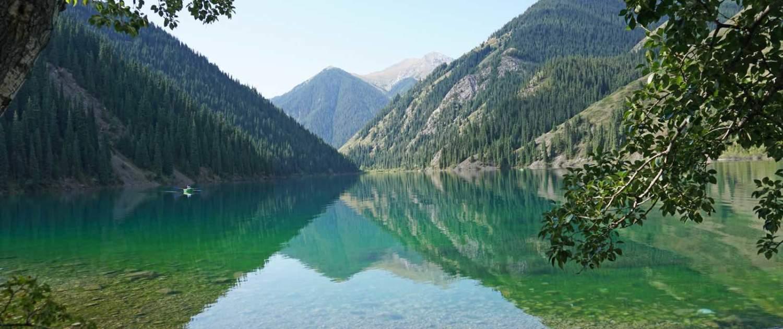 Kasakhstan - Kolsai-søerne