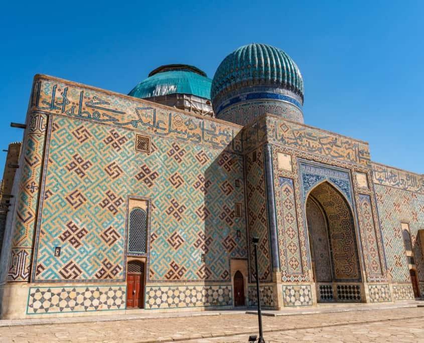 Turkestan på Silkevejen