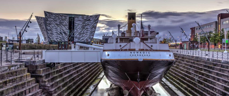 Titanicmuseet i Belfast