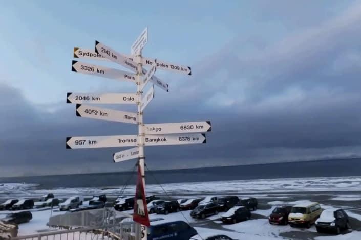Vejskilte i Svalbard