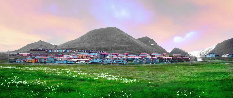 Longyearbyen om sommeren