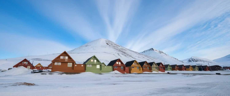 Longyearbyen om vinteren