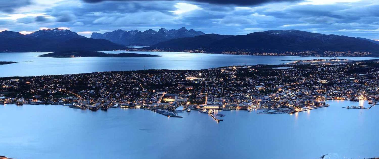 Tromsø om natten
