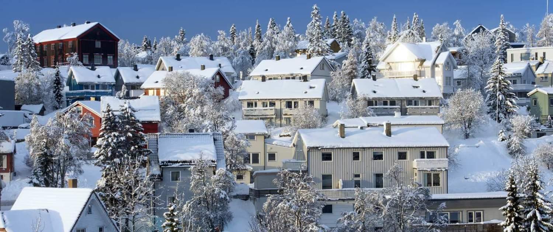 Hyggelige huse i Tromsø
