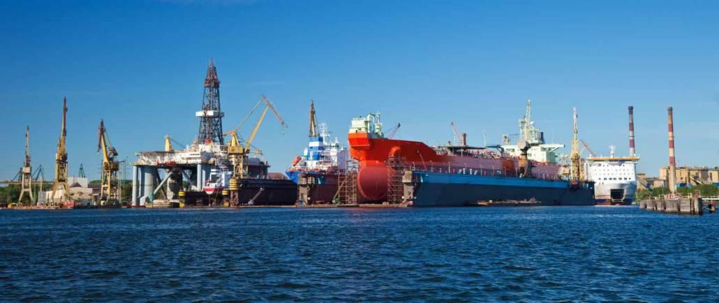 Polen - Gdansk - Skibsværft