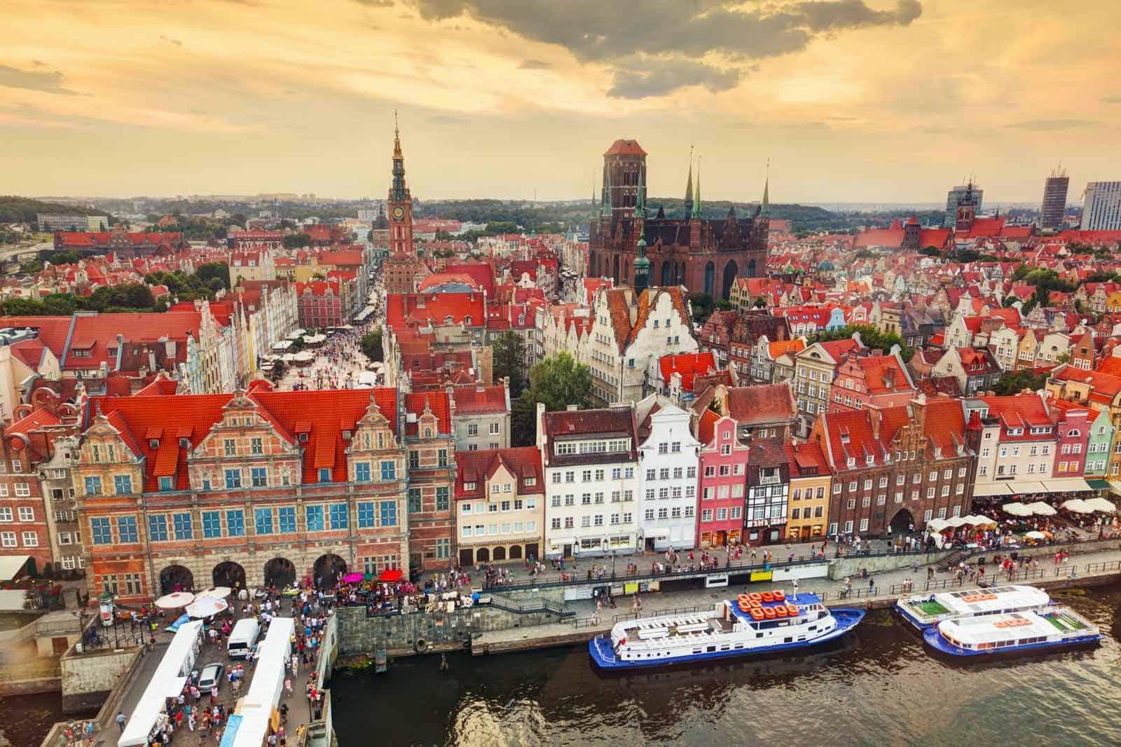 Gdansk i Polen