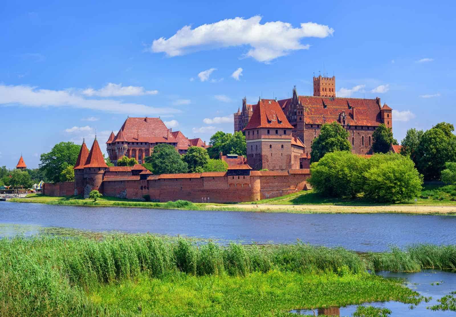 Malbork korsridderborg i Polen