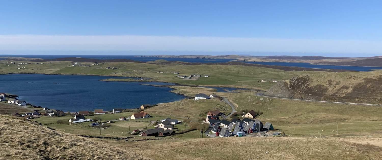 Nordiske huse, Shetland