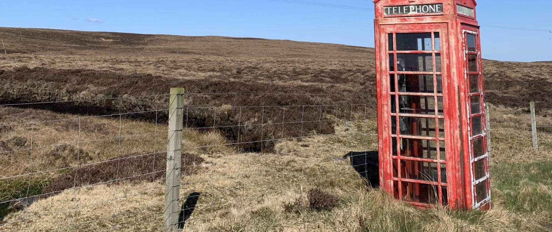 Shetland, telefonboks