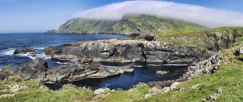 Naturlandskab på shetlandsøerne