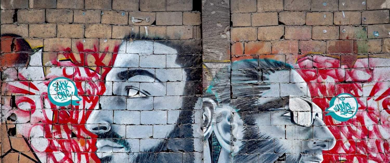 Graffiti-kusnstværk