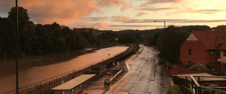 Bristol om aftenen
