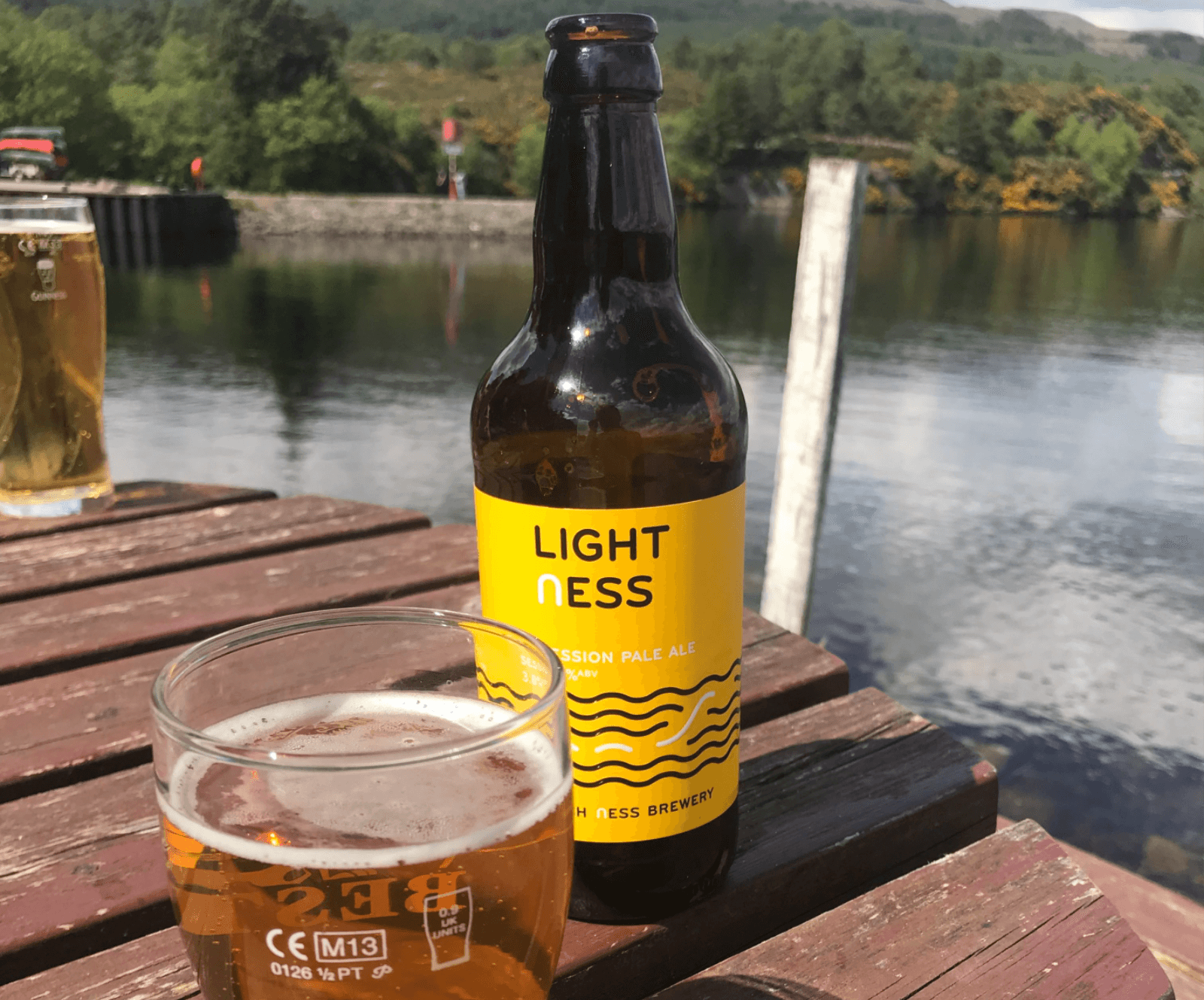 Øl ved Loch Ness