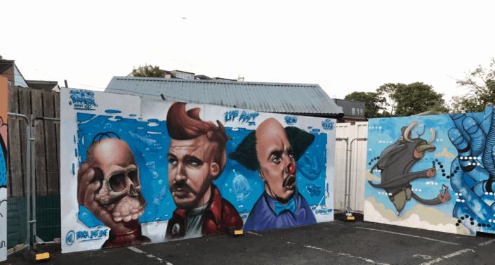 Street-art i England