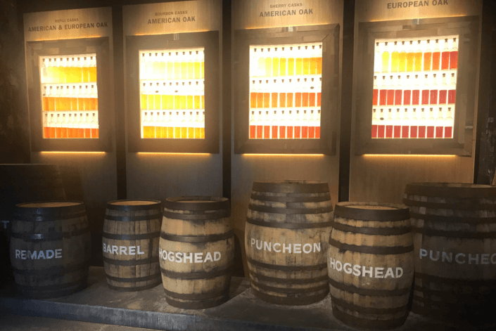 whisky rundvisning