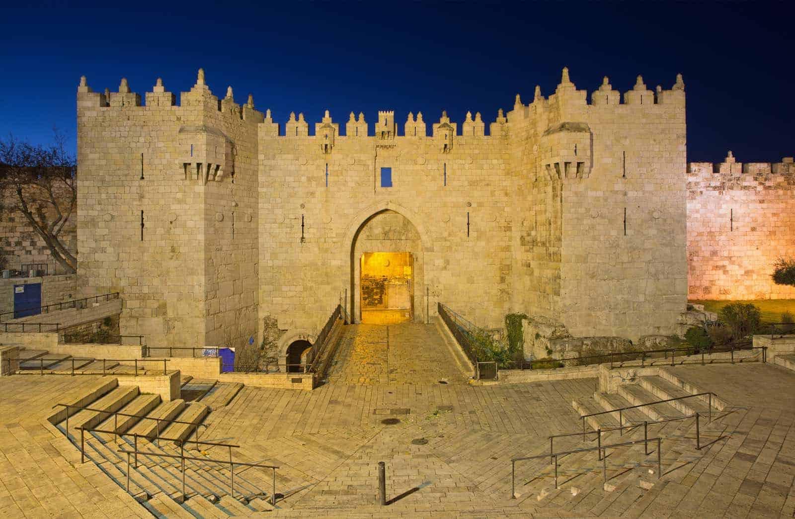 Damaskusporten i Jerusalem