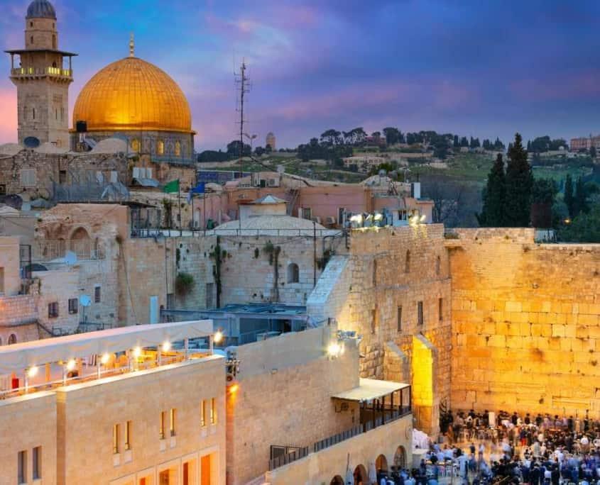Rejse til Israel med Jerusalem og Vestbredden