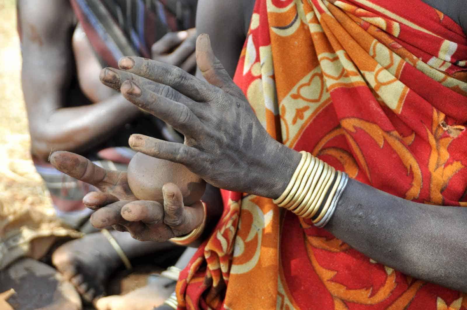 Etiopien - Omodalen - Mursi