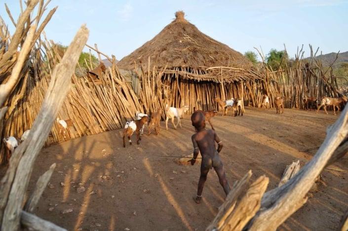 Rejser til Etiopien og Omodalen