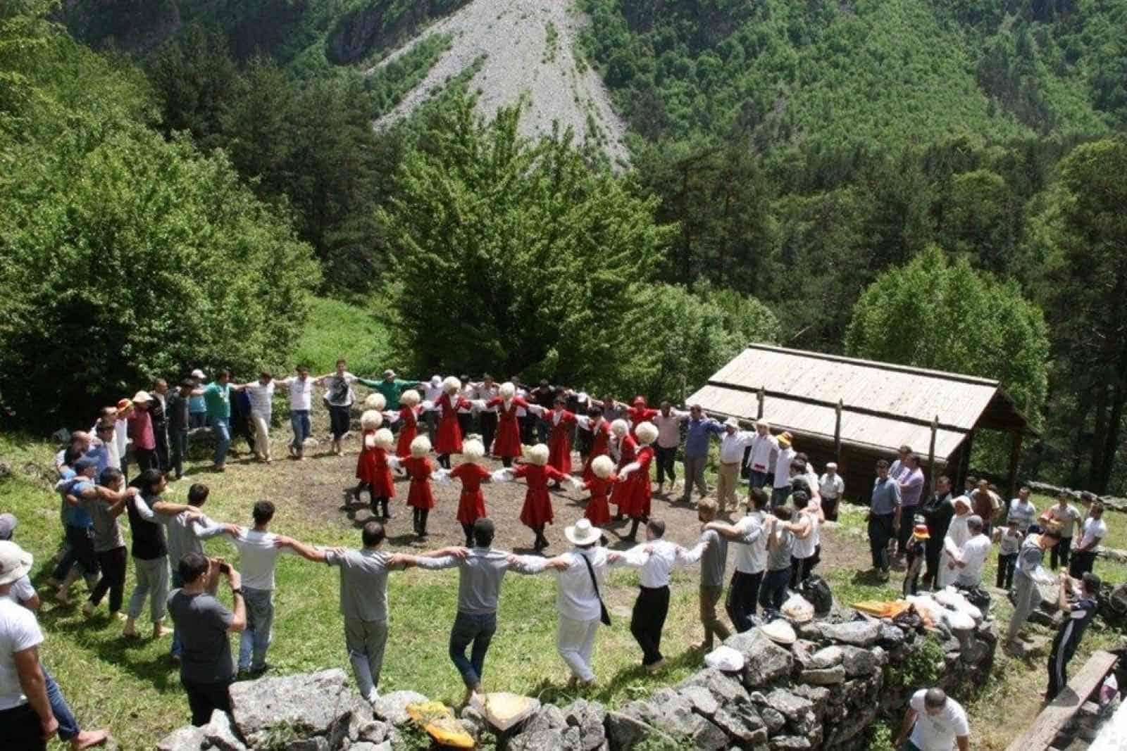 Fest i Leningor - Sydossetien