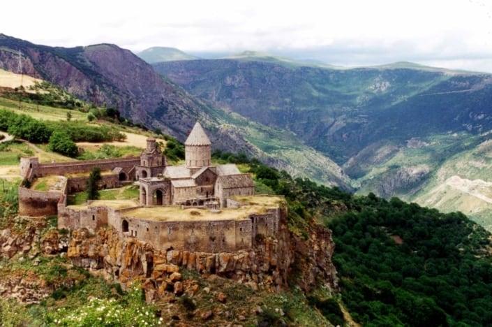Armenien - Tatev-klostret