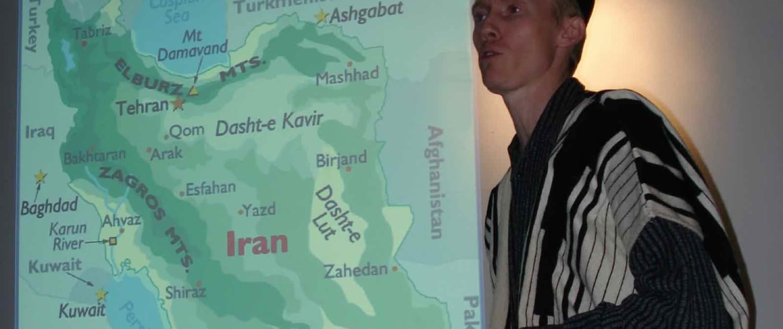 Søren Bonde holder foredrag om iran